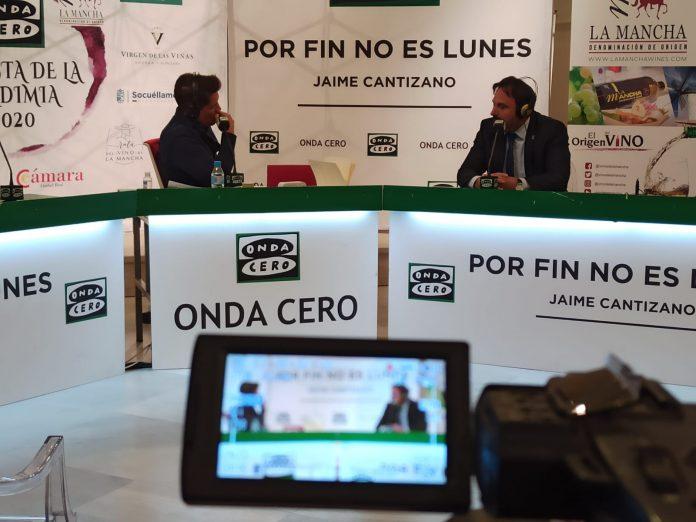Jaime Cantizano con Carlos David Bonilla en 'Por fin no es lunes'