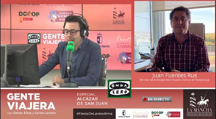 Juan Fuente Rus es entrevistado por Carles Lamelo