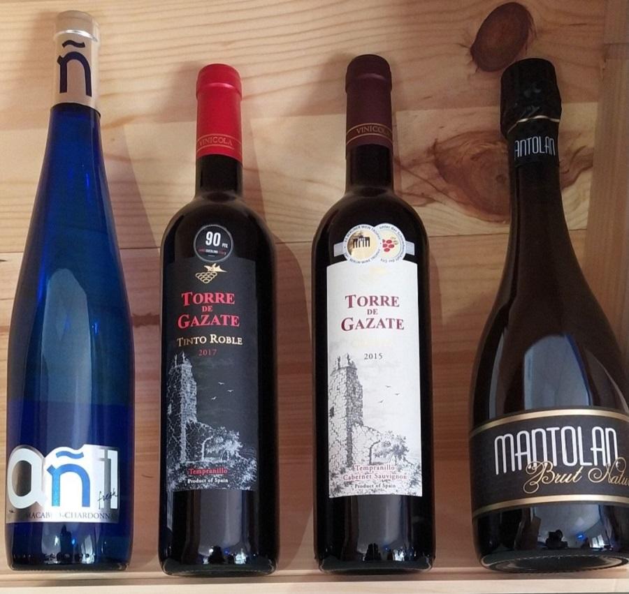Algunas de las marcas más conocidas de Vinícola de Tomelloso, aptas 100% para veganos y vegetarianos