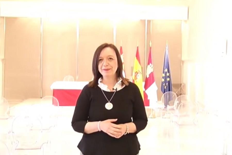 Intervención de la presidenta de ACEVIN y alcaldesa de Alcázar de San Juan, Rosa Melchor