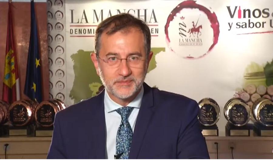 Pedro Carreño presenta la Gala Virtual de los XXXIV Premios a la Calidad de la DO La Mancha
