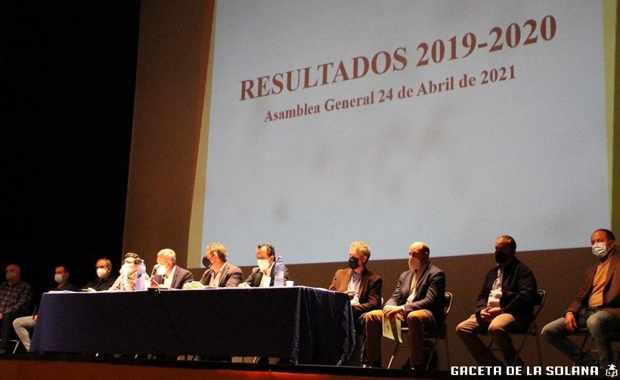 Asamblea general socios de la Cooperativa Santa Catalina