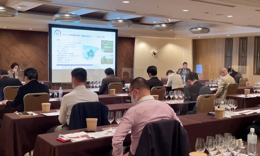 Gran éxito en los seminarios de la DO La Mancha en Japón