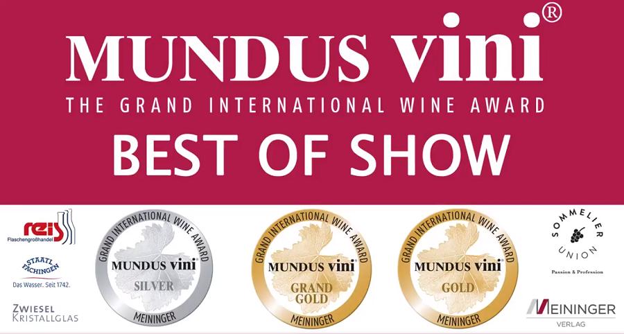Mundus Vini Spring Tasting 2021: Best of Show