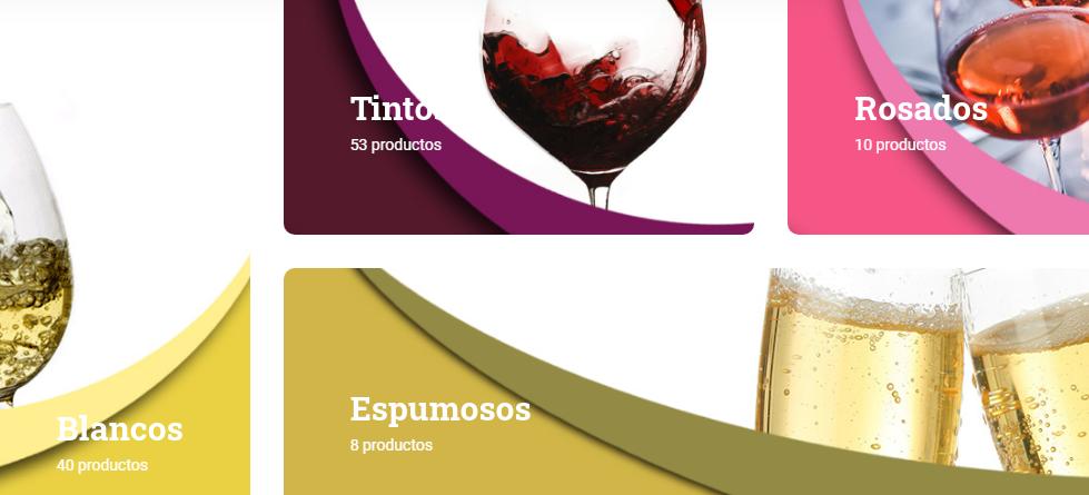 Captura web Vinos del Quijote y su extensa variedad de vinos