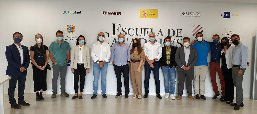 Catadores de la III Edición Premios España Selección