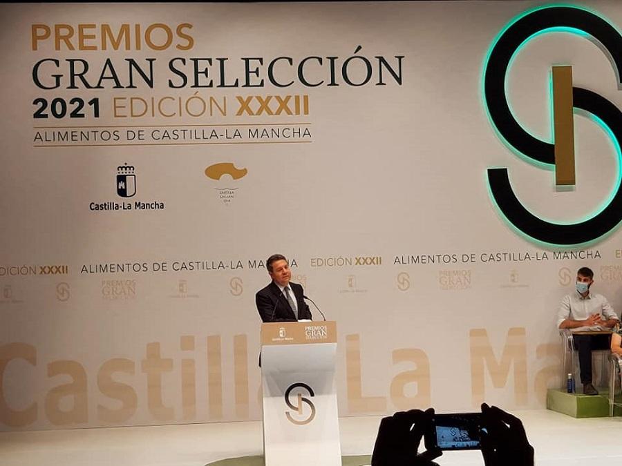 García-Page anuncia la puesta en marcha del programa 'Campo y Alma' en los XXXII Premios Gran Selección