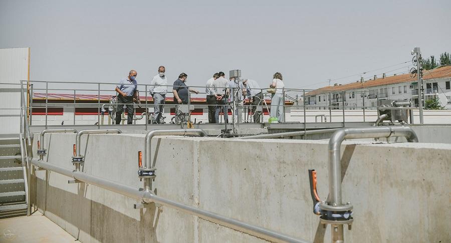 Inauguración depuradora sostenible Cooperativa Vinícola del Carmen