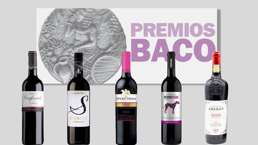 Vinos DO La Mancha premiados en los XXXV Premios Baco
