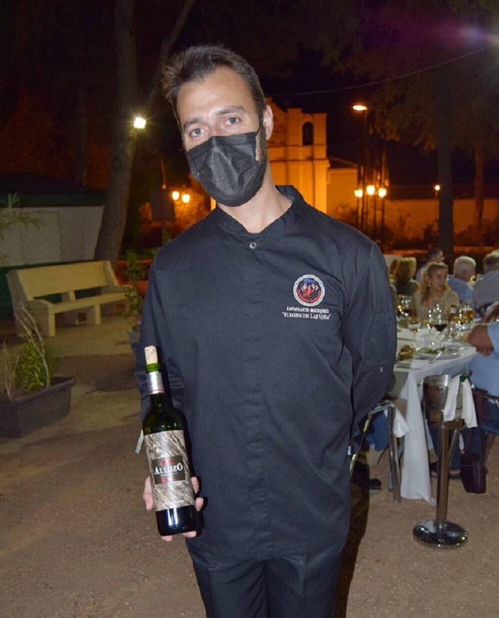 Estrellas de La Mancha en Marisquería Virgen de las Viñas, Allozo Tinto (D.O. La Mancha)