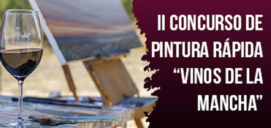 II Concurso de Pintura Rápida 'Vinos de La Mancha'