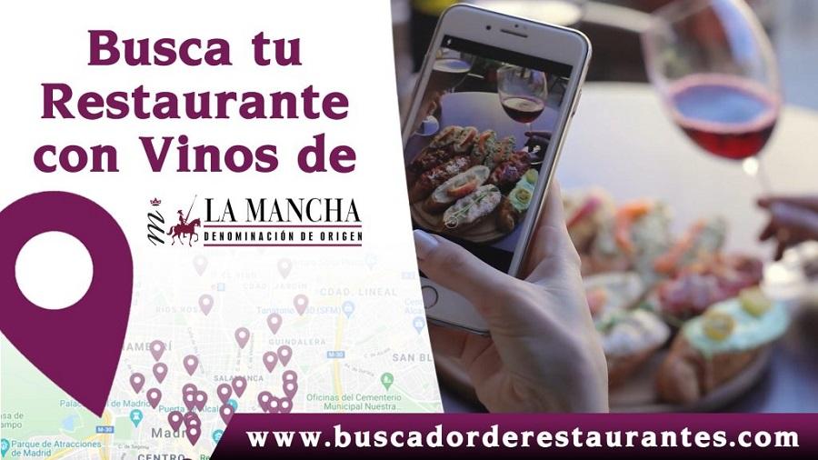 Plataforma digital para encontrar restaurantes que oferten vinos de La Mancha