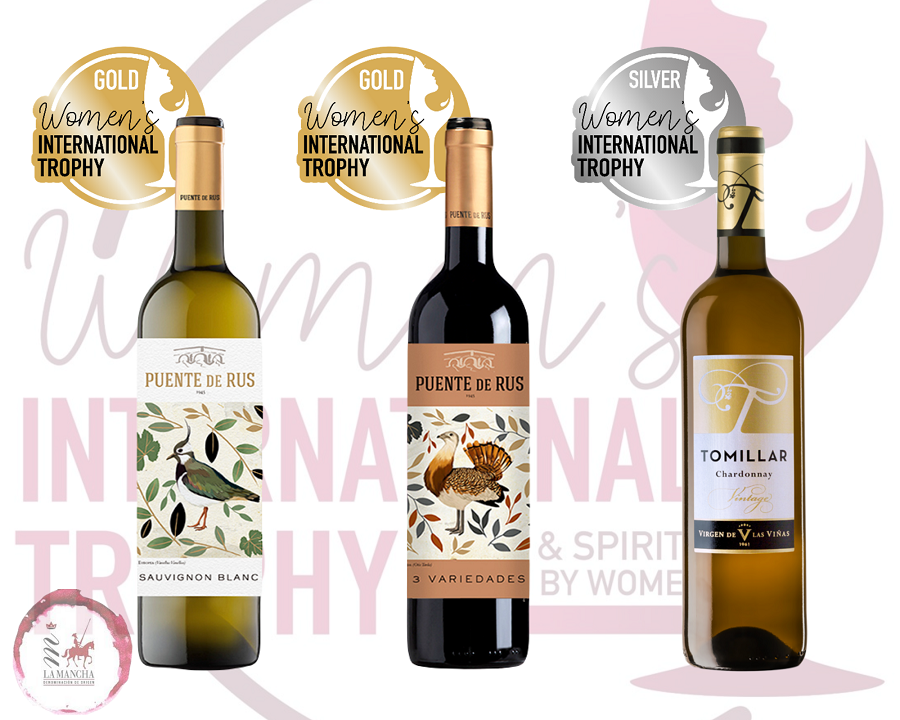 Vinos D.O. La Mancha premiados en el Women's International Trophy