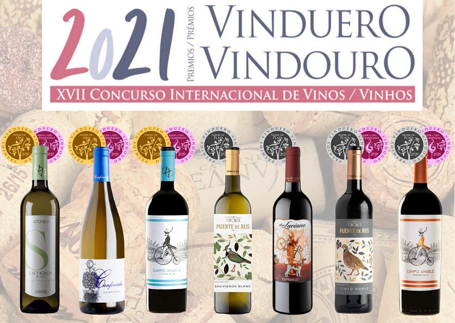 Vinos DO La Mancha premiados en los XVII Premios Vinduero-Vindouro