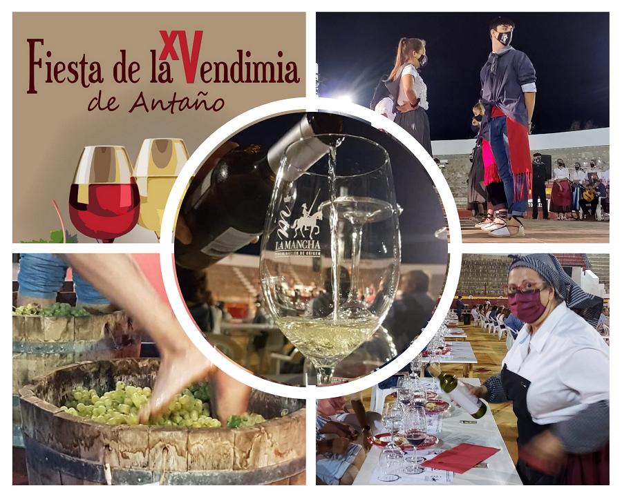 XV Fiesta de la Vendimia de Antaño de Pedro Muñoz, con la colaboración de la DO La Mancha