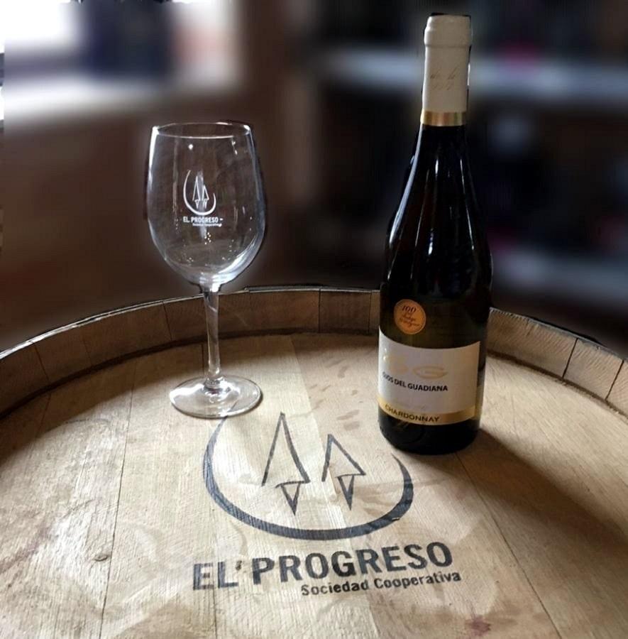 Ojos del Guadiana Chardonnay, de Bodegas El Progreso